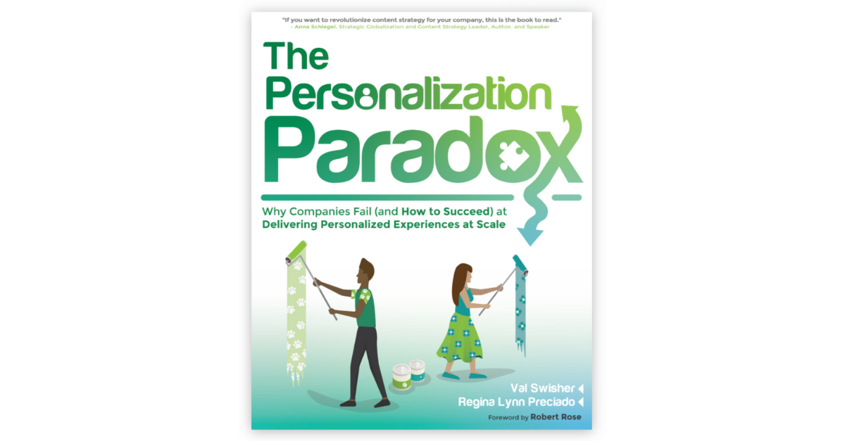 Book cover for The Personalization Paradox
